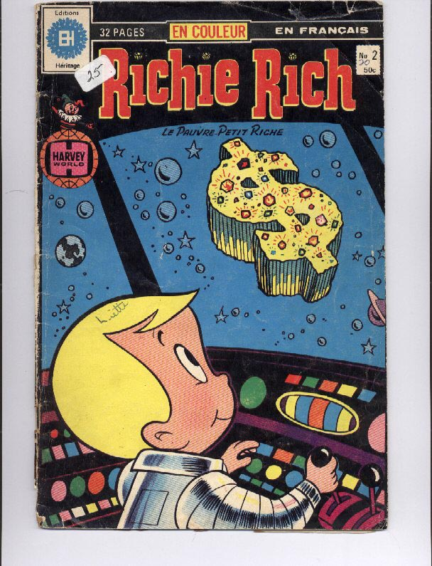 Richie Rich French Comic Book